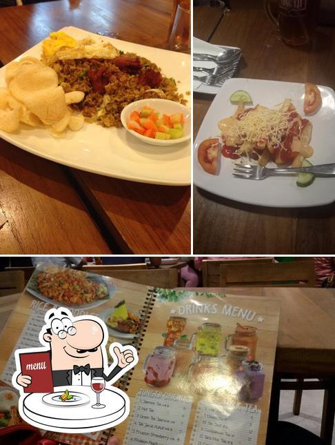 Comida en Tong Tji Tea bar