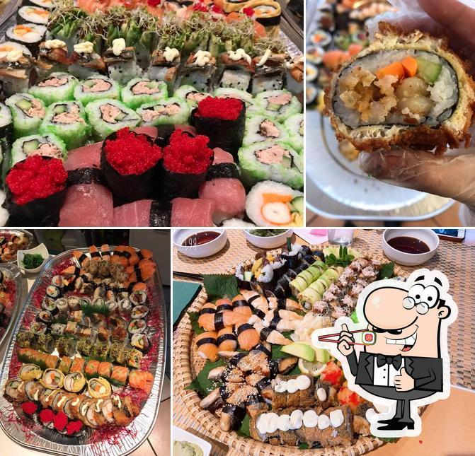 Prueba uno de sus diferentes tipos de sushi