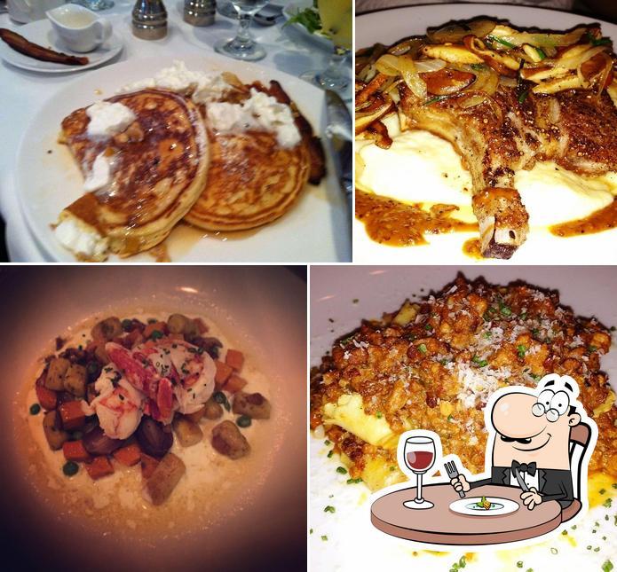 Food at Blue Moon
