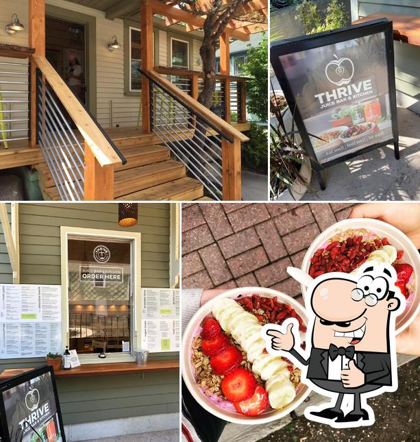 Here's a pic of Thrive Juice Bar & Kitchen