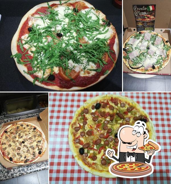 Commandez des pizzas à Pronto Pizza Valé
