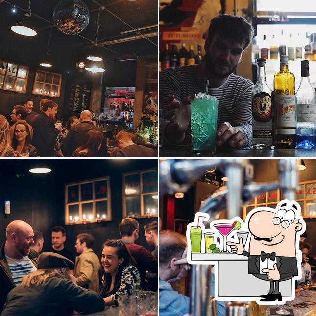 Here's a pic of Nitehawks Terrace Bar