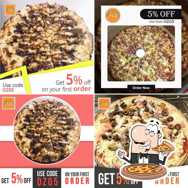Try out various variants of pizza