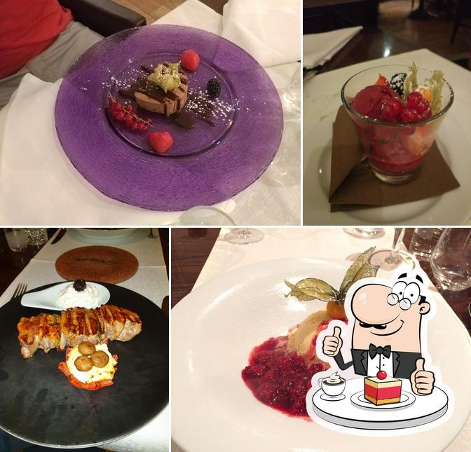 KDW offers a variety of sweet dishes