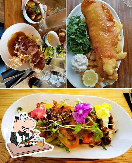 Meals at Oceans Restaurant