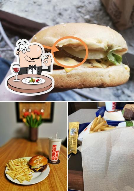 """Блюда в """"Burger King"""""""