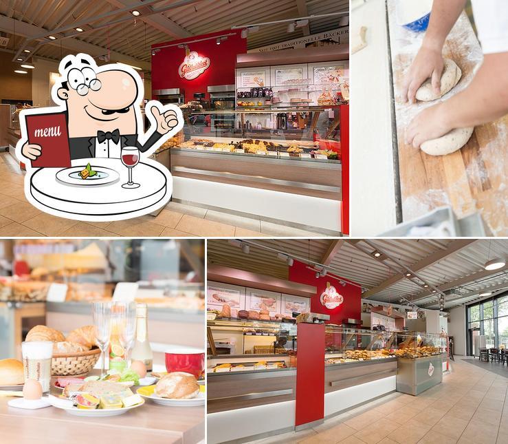 """Блюда в """"Bäckerei Gildhuis"""""""
