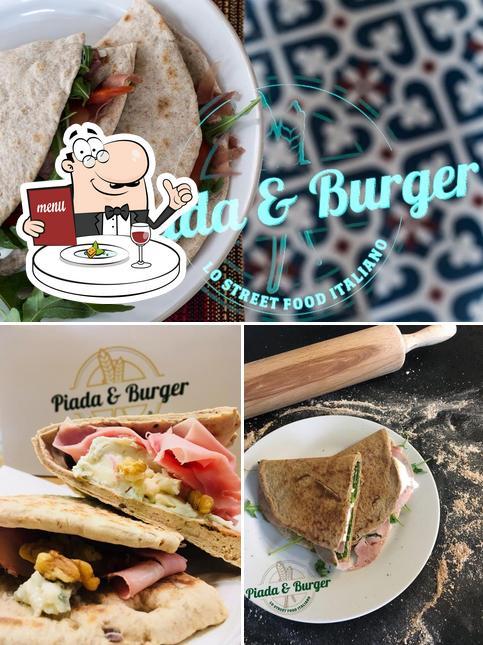 Essen im Piada & Burger