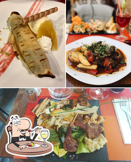 Meals at Andino