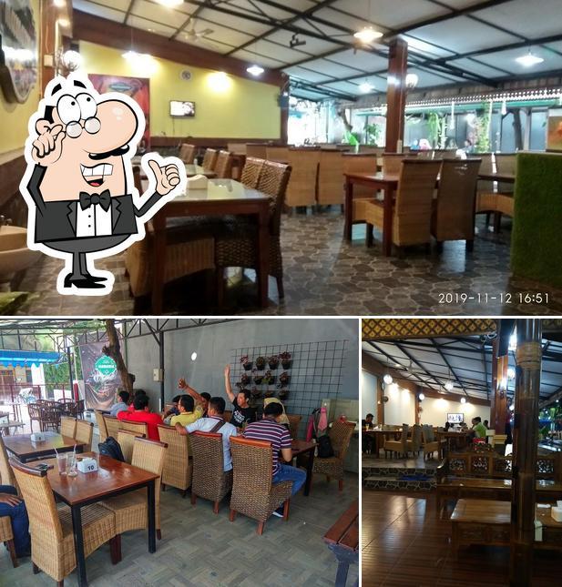 El interior de Fer's Mamamia cafe & resto