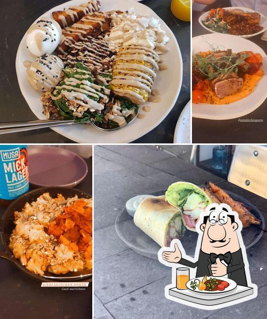 Comida em Nola Kitchen