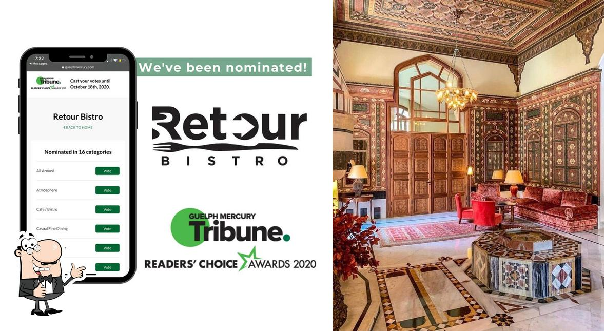 Look at the pic of Retour Bistro