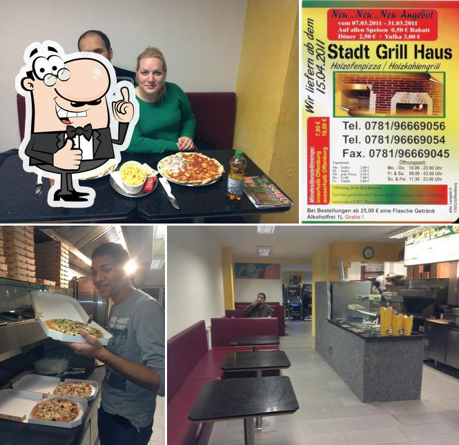 Look at this pic of Stadt Grill Haus