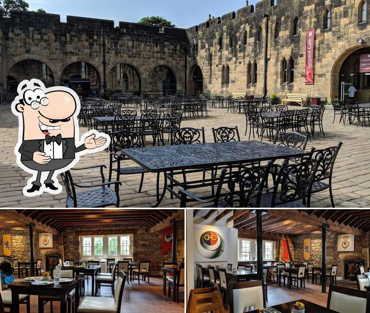 See the picture of Alnwick Castle