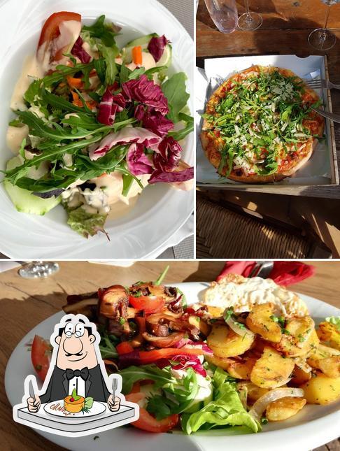 Essen im Ristorante - Pizzeria - Pension Zum weißen Ross