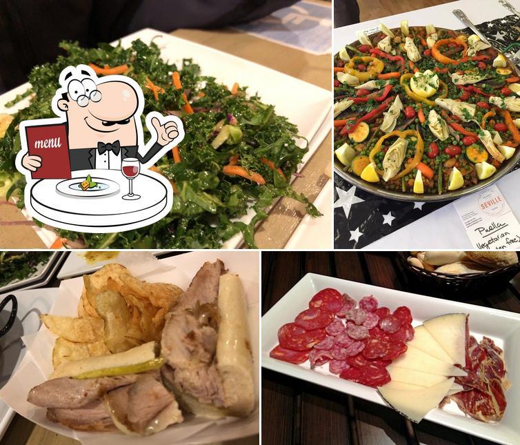 Meals at Seville Tapas