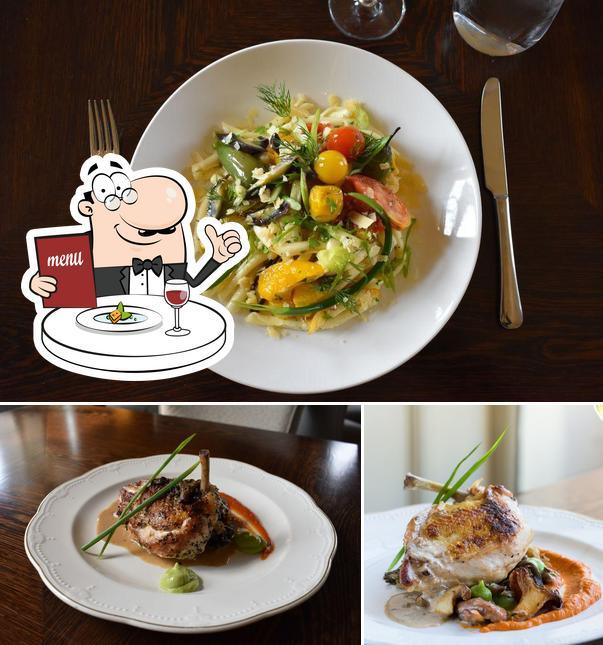 Food at XIX (Nineteen) Restaurant