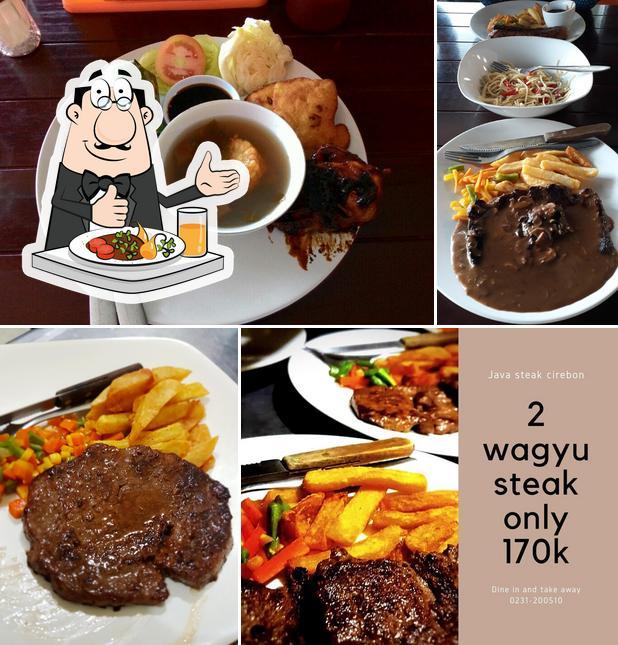 Food at Java Steak