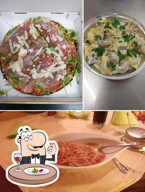 Essen im Pizzeria Carlo
