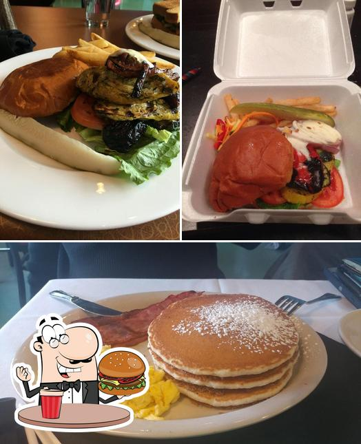 Get a burger at 48Th Street Grille