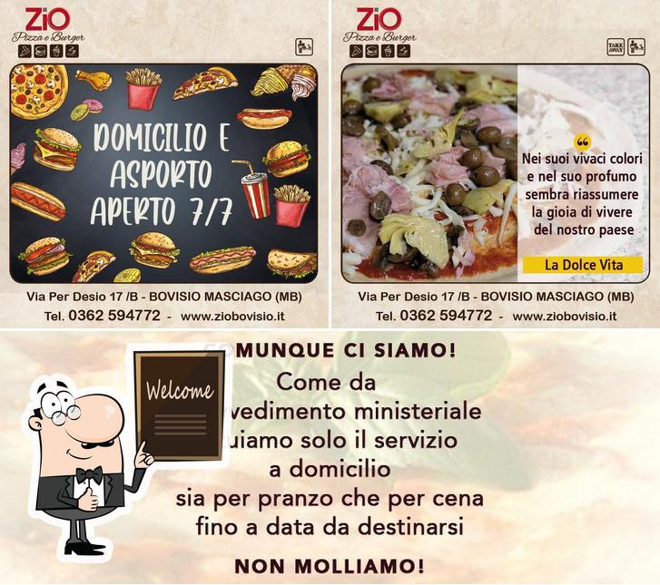 Guarda questa foto di Zio Pizza e Burger Bovisio Masciago