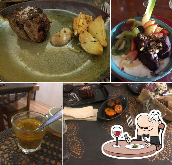 Comida em Belos Aires