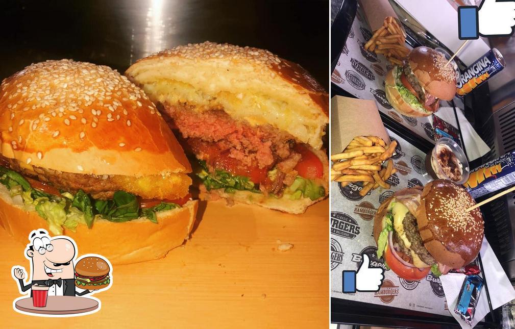 Prenez un hamburger à L'idéal furiani