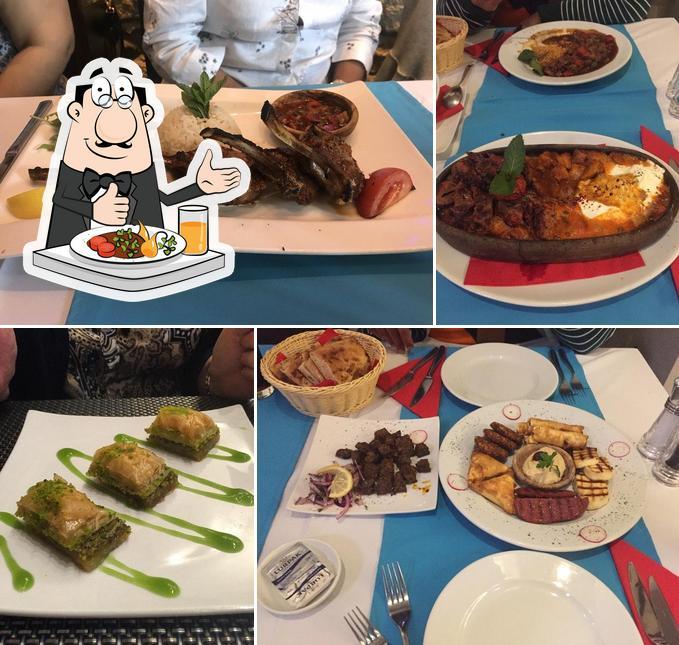 Meals at Lezzet Restaurant