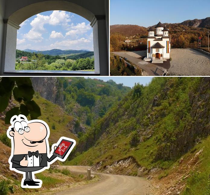 Check out how conacu Boierului looks outside