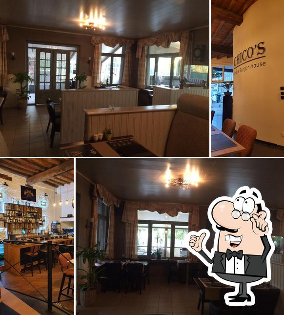 The interior of Chico's Grill & Burgerhouse