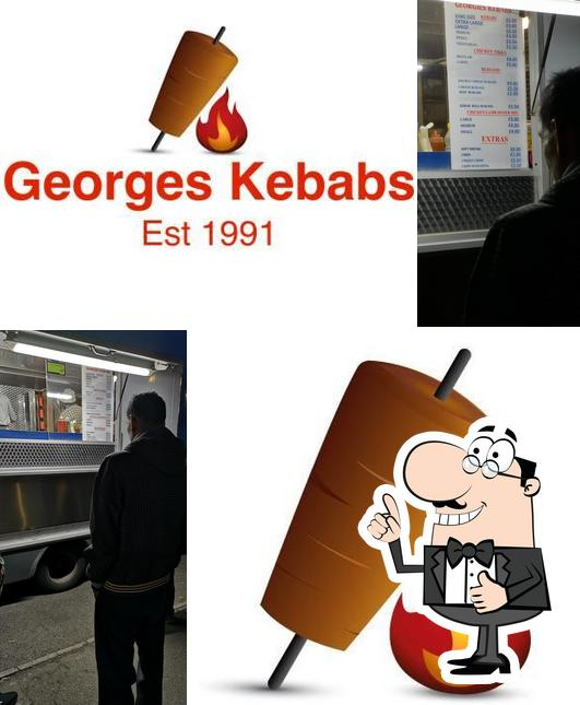 Here's a photo of Georges Kebabs