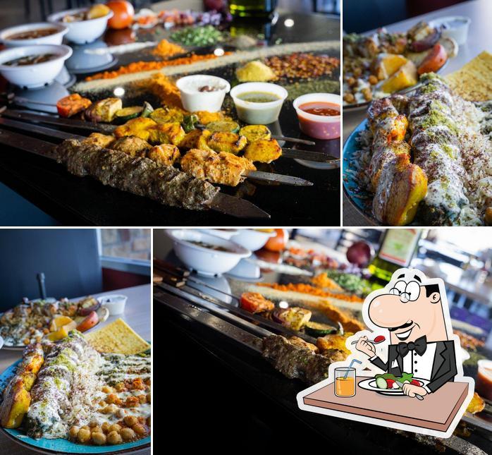 Food at Ariana Kebabs Bar & Grill