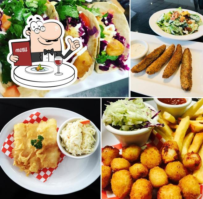 Meals at Golden Fish & Chips Kortright