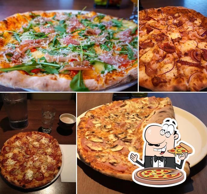 Kostet verschiedene Arten von Pizza