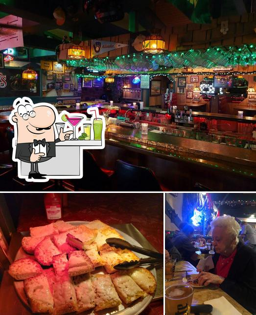 Pepino's is distinguished by bar counter and food
