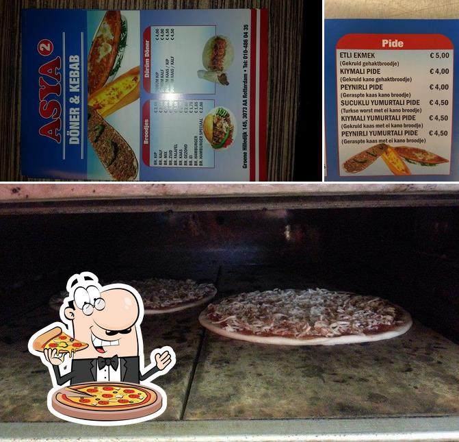 Try out pizza at Asya Doner & kebab 2