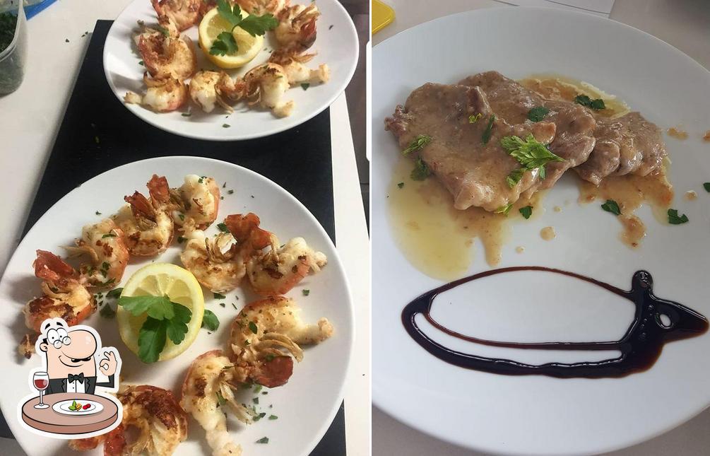 Essen im Spuntino Italiano