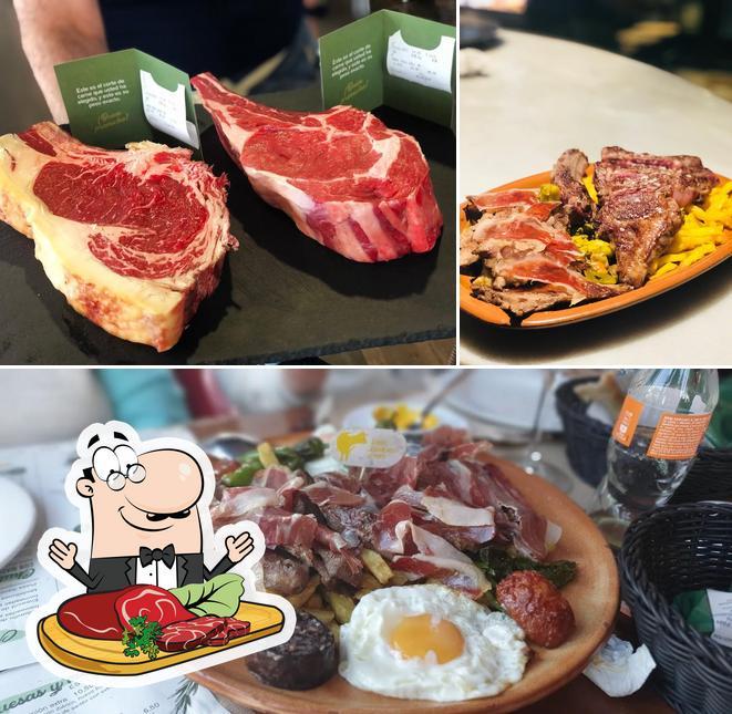 Tómate una receta con carne en El Fogón de Mariana-La Barrosa