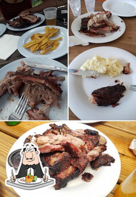 Food at Gran Parador Bellamar