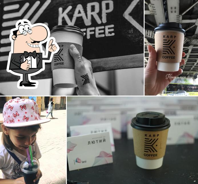 Look at this picture of KARP Coffee