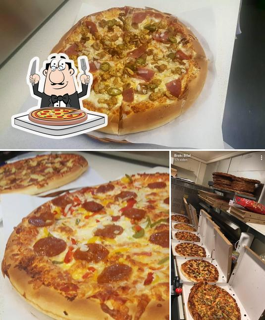 Try out pizza at Facil Kebab