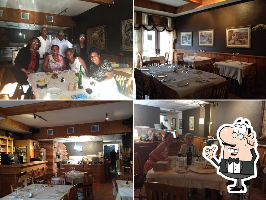 Check out how La Grotta Pizzeria looks inside