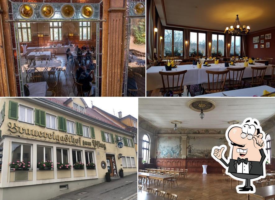 L'intérieur de Brauereigasthof zum Pflug