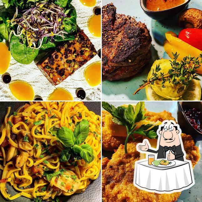 Food at ARENA Restaurant