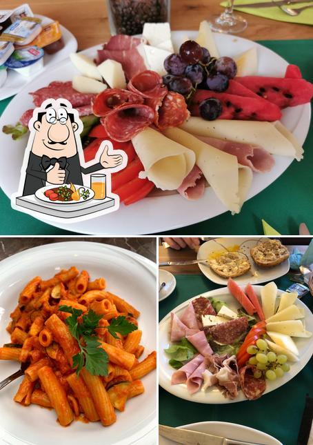 Gerichte im Ristorante - Pizzeria - Pension Zum weißen Ross
