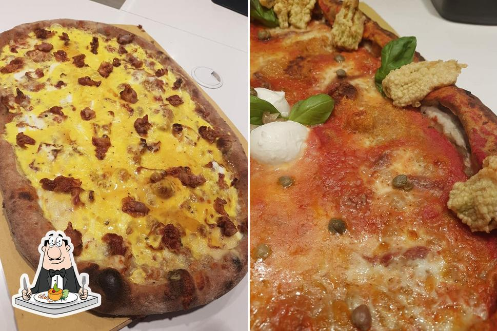 Cibo al Pizzeria Pd'A