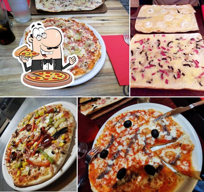 Choisissez des pizzas à Le Frangin