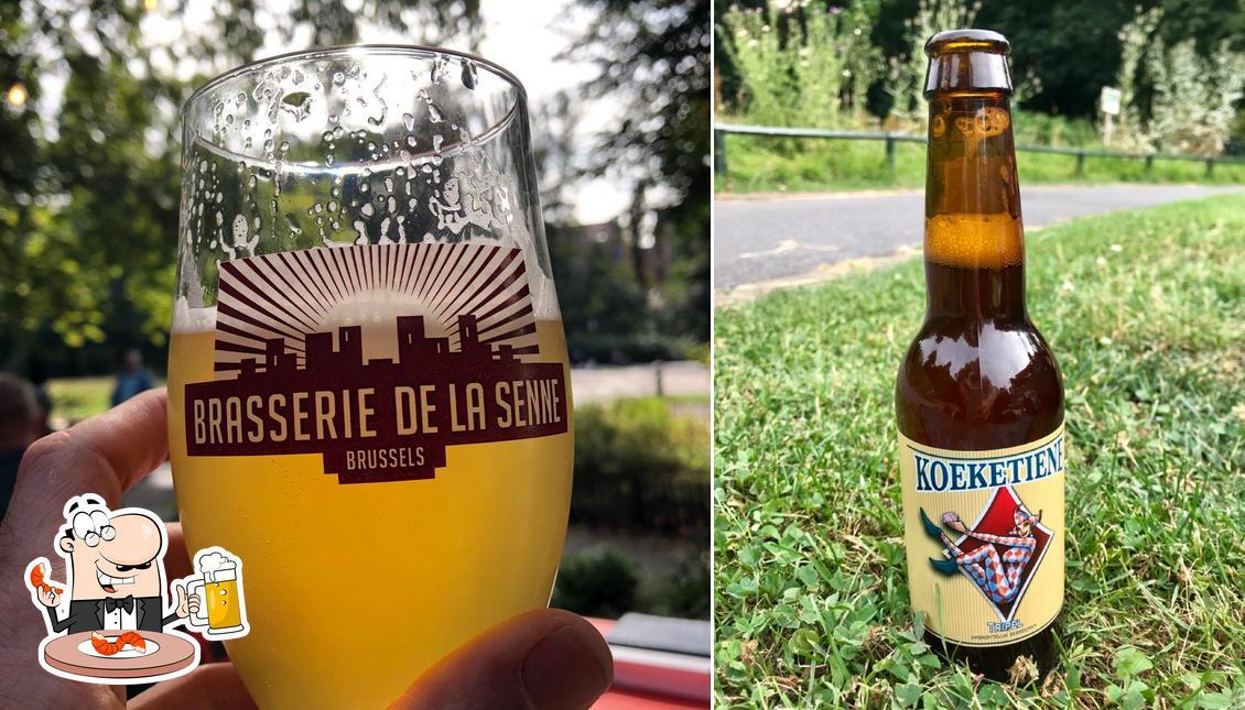 Profitez un verre de bière blonde ou brune