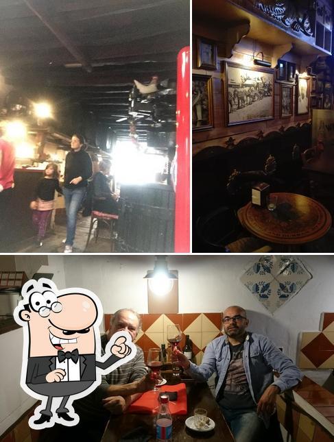 Estas son las imágenes que muestran interior y comida en Celler d'en Marc