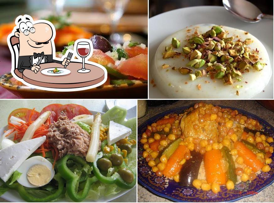 Comida en Restaurante La Paloma Blanca